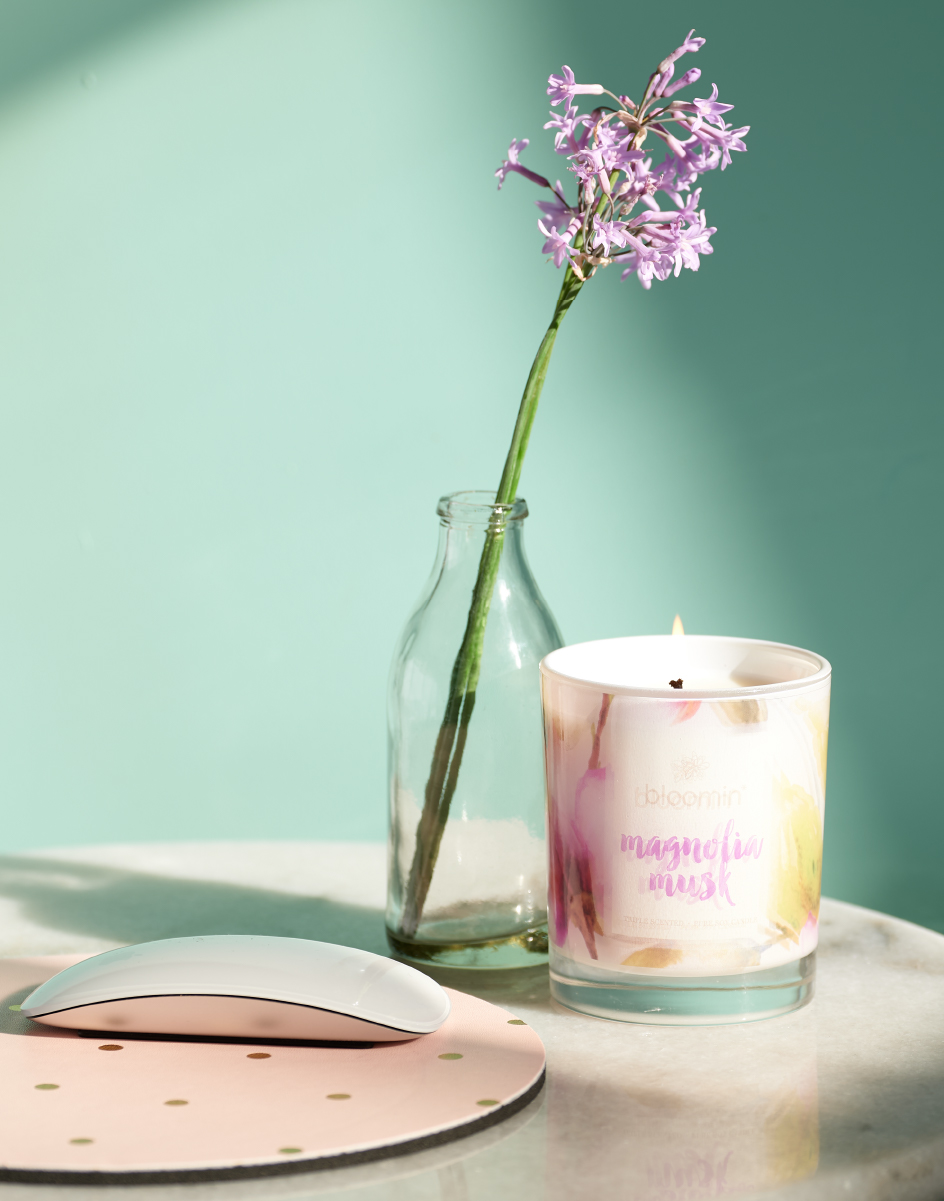 Perth Product Photography Conscious Candle Co.